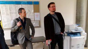 Christian Reber und Florian Lippke