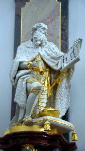 Statue des Erbauers