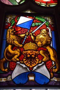 Weitere Wappenscheiben aus dem Kreuzgang: Hier Zürich