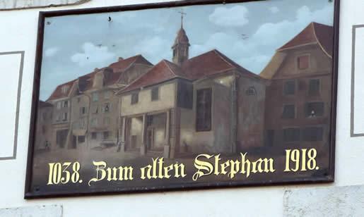 zum alten Stephan