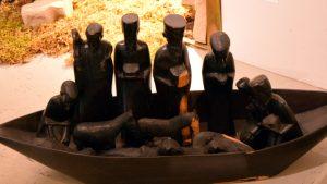 Krippe auf einem Boot, aus Tansania