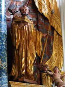der heilige Fintan ist in der Klosterkirche begraben