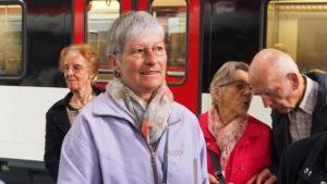 auf dem Bahnhof in Luzern