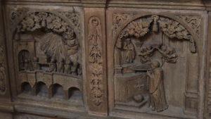 Detail Sarkophag