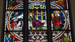 Das Leben der Heiligen Anna (3) Geburt von Maria