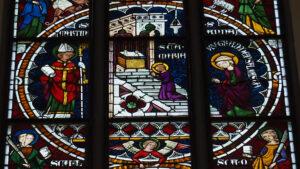 Das Leben der heiligen Anna (4) Maria wird in den Tempel geschickt