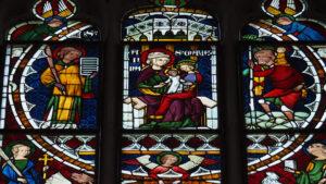 Das Leben der heiligen Anna (5) Maria selbdritt